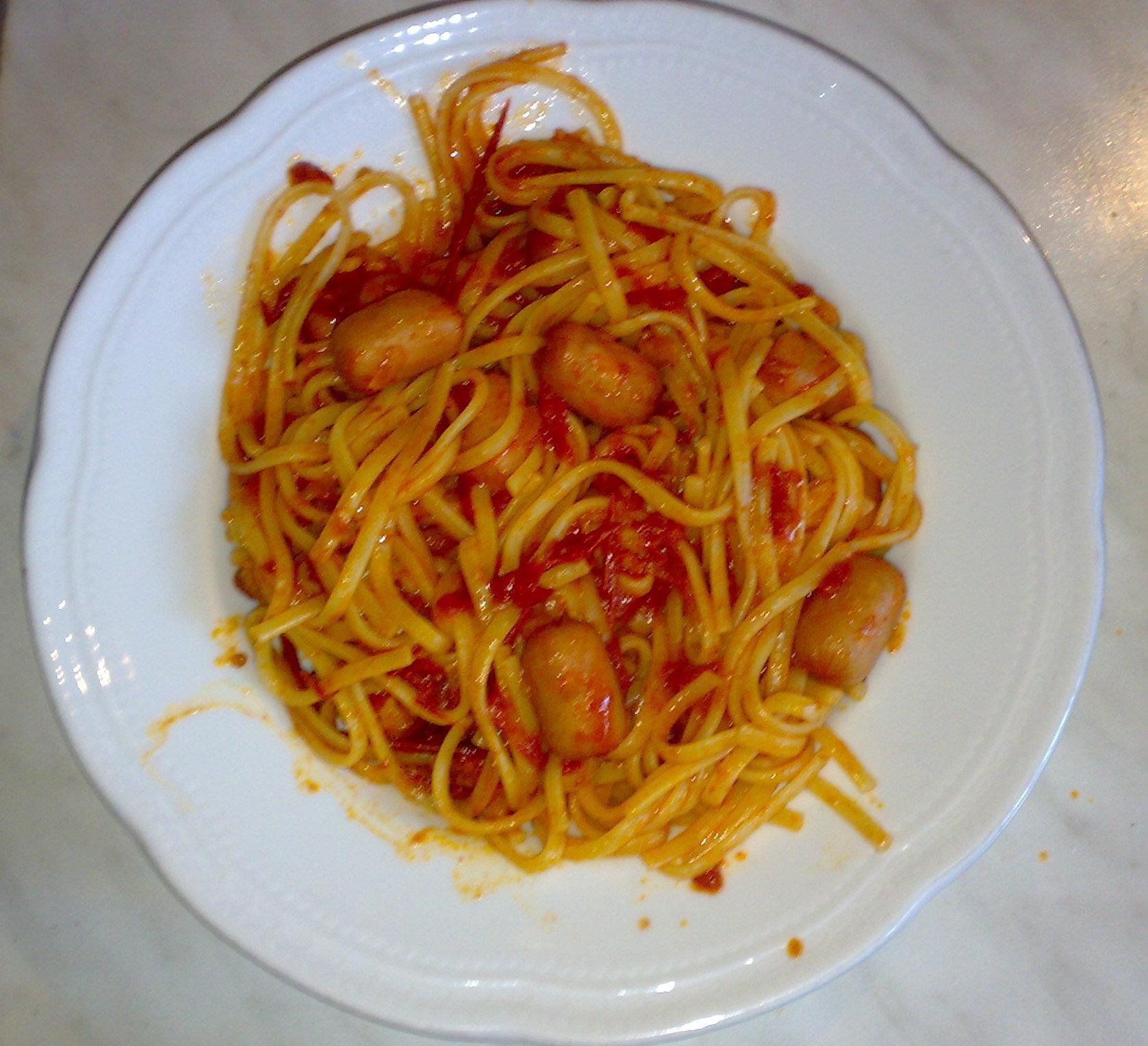 Ricetta pasta al wurstel