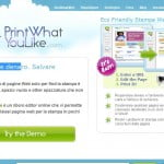 Con Print What You Like risparmi inchiostro per stampare i siti web