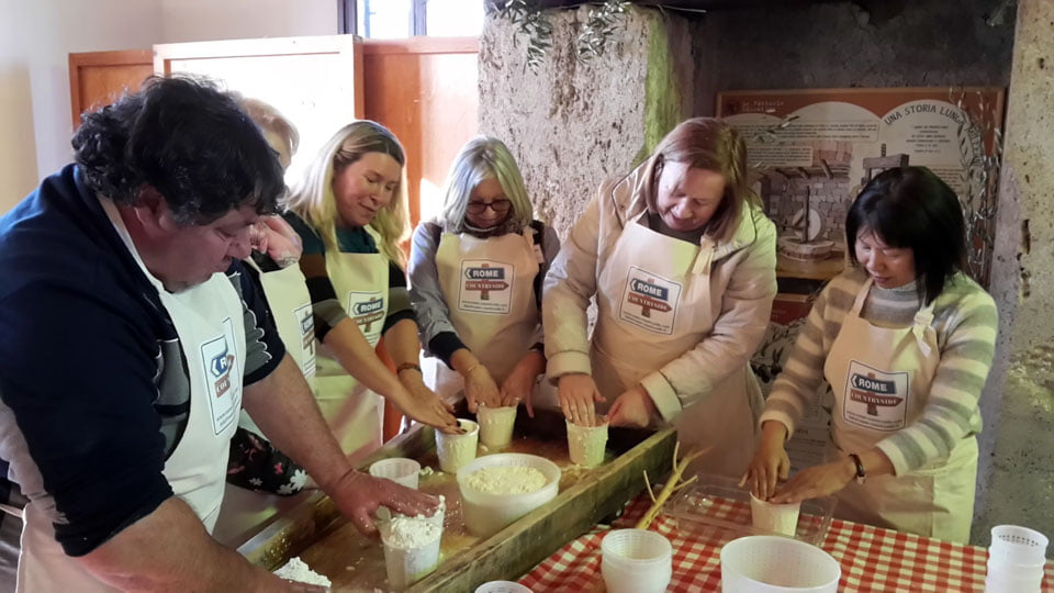 Corso Making Cheese di Cacio Romano