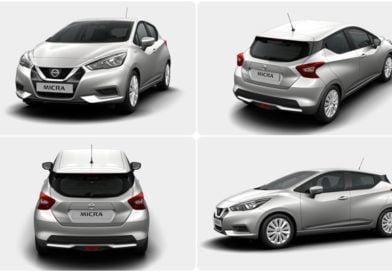 La nuova Nissan Micra e il configuratore online